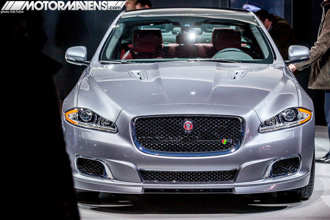 Jaguar XJR Sedan 2014 NYIAS 2013 New York