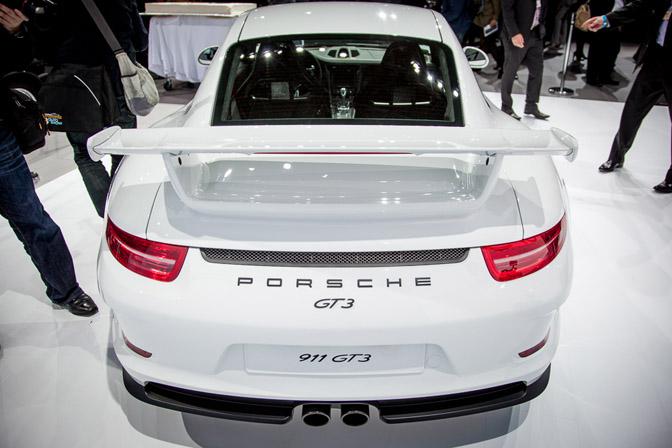 Porsche 911 GT3 991 2014 NYIAS 2013 New York