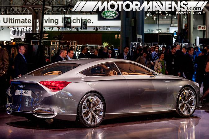Hyundai Genesis Concept 2014 NYIAS 2013 New York