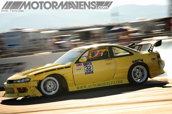 josh guild S14 kouki S14 silvia 240SX vegasdrift Formula D Las Vegas drifting
