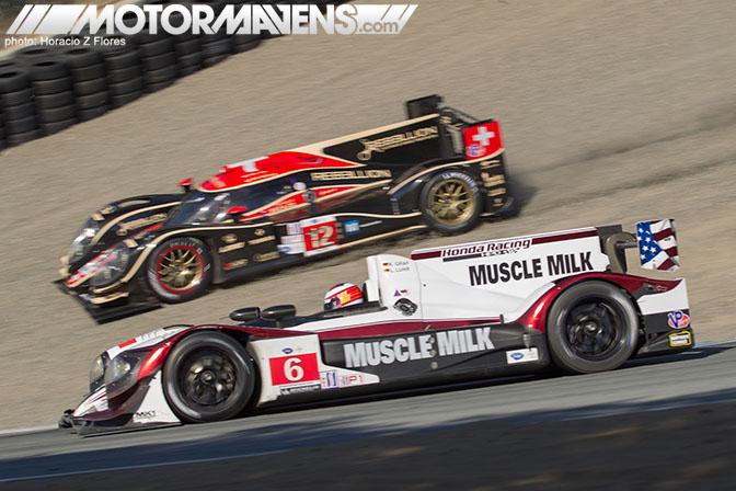 Muscle Milk Rebellion Lola American Le Mans ALMS Laguna Seca Mazda Raceway Tom Stahler Mike Kim Horacio Z Flores