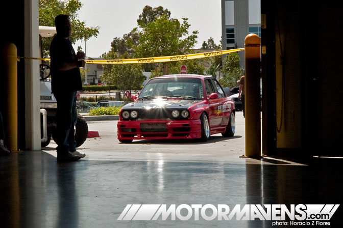 BMW E30 Formula Drift Tech Day 2010 Universal Technical Institute Rancho Cucamonga CA