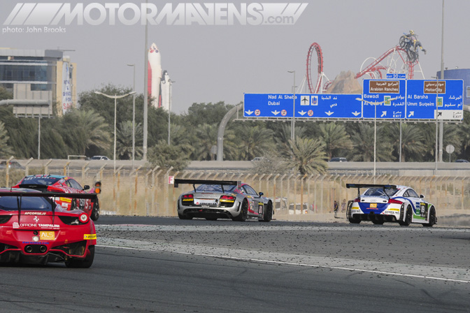 Audi R8 Dubai Autodrome 24H 24 Hours John Brooks Photo