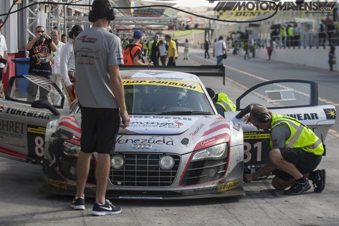 Audi R8 Dubai Autodrome 24H 24 Hours John Brooks Photo