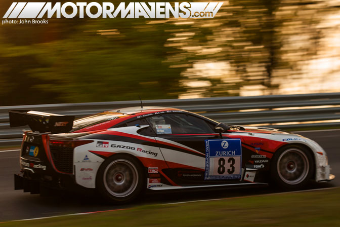 Gazoo Racing Lexus LFA LF-A Nurburgring 24 Hours Nordschleife 24H Juichi Wakisaka Akira Iida Takayuki Kinoshita John Brooks SP8
