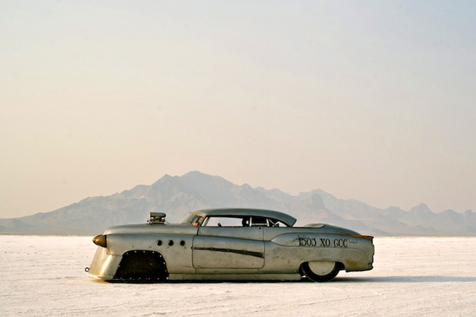 Bombshell Betty 1952 Buick Riviera Bonneville Land Speed Racing Jeff Brock