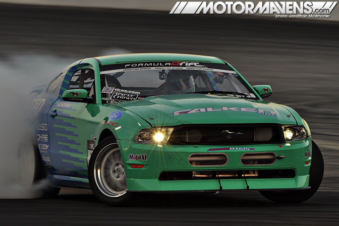 Justin Pawlak Falken Mustang