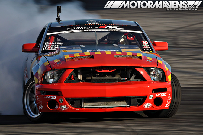 formula drift 2010 finale irwindale speedway tony b drift emporium ford mustang tuskegee airmen