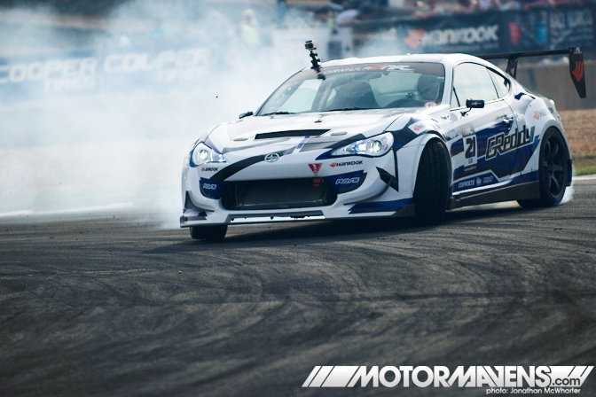 Brett May Daigo Saito Ford Formula Drift FR-S GReddy Jonathan McWhorter Ken Gushi Lexus Mustang Nissan Retaks Road Atlanta RSR Ryan Tuerck S13 S15 SC430 Scion Scion Racing Scion tC speed gun Tony Angelo toshiki yoshioka Vaughn Gittin Jr