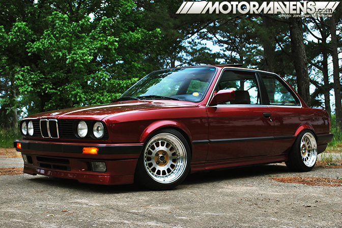 3 piece, Billet 60, BMW, calypsorot, clean, E30, Ground Control, Image Wheels, Jim Conforti, Jonathan McWhorter, Koni, metallic, Ryan Sermonet, stance, Turner Motorsports