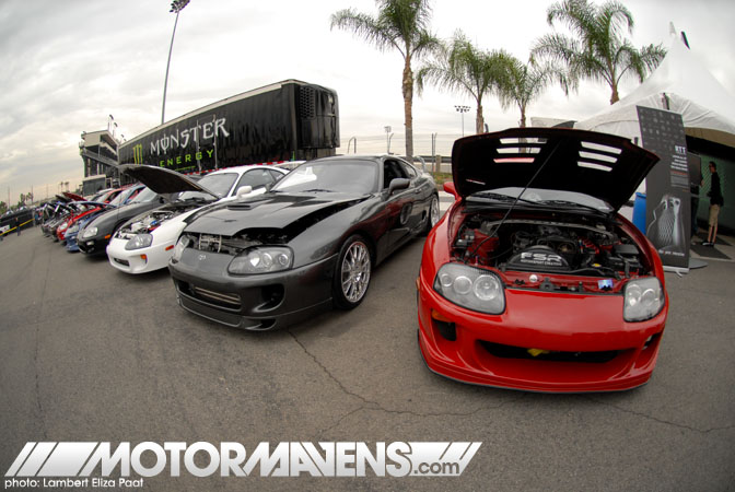 Irwindale Speedway MotorMavens Mass Appeal Car Show