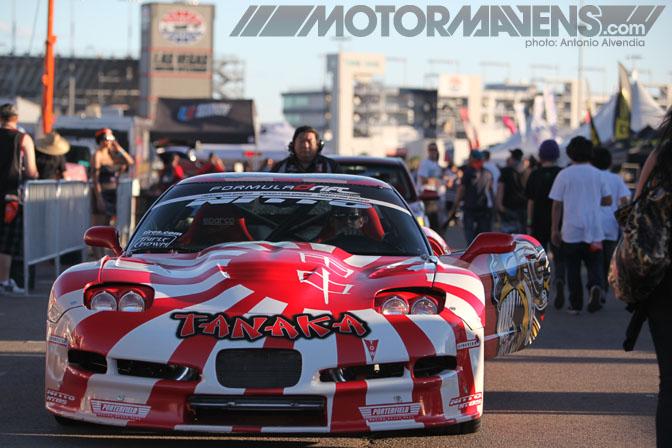 Formula Drift Las Vegas Motor Speedway 2010 drifting