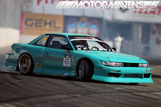 Roland Gallagher S13 Formula D Long Beach
