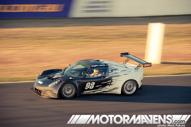 Lotus Exige GT3 Angelo Lazaris