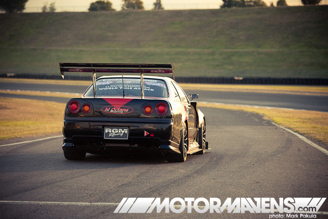 HiOctaneRacing Advan R34 GT-R