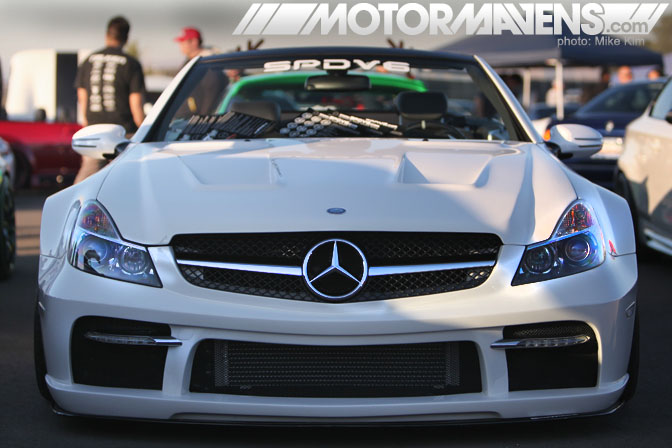 AutoCon 2011 El Toro Airbase Irvine California Sammy Mercedes Benz SL65 AMG black edition kit