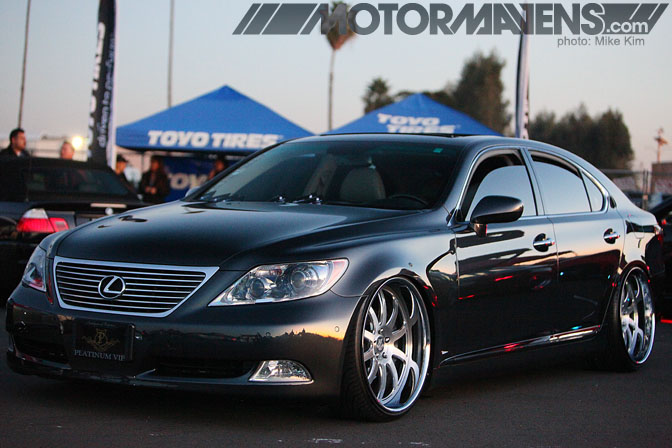 AutoCon 2011 El Toro Airbase Irvine California platinum VIP Lexus LS460 Charlie Hyunh Phantom Forged Phantom Cup Kit