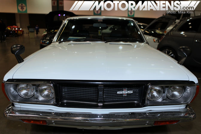 HIN Hot Import Nights Los Angeles Convention Center 2011 Nissan Bluebird SSS