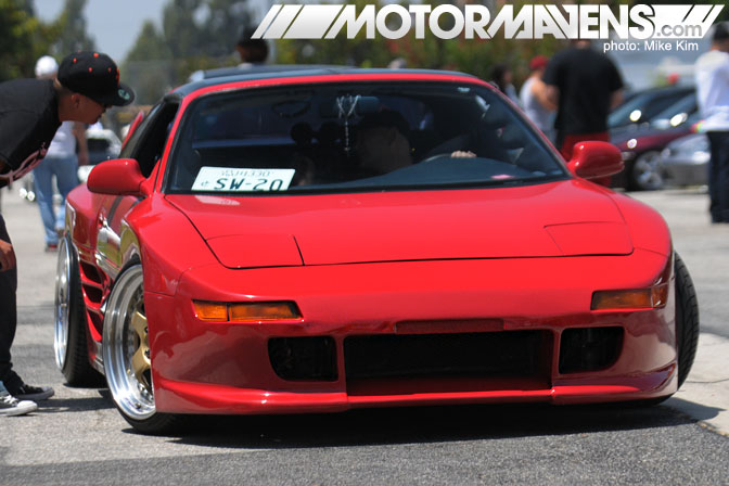 It's JDM Yo 1st Year Anniversary Meet Cerritos TRD Widebody MR2 SW20