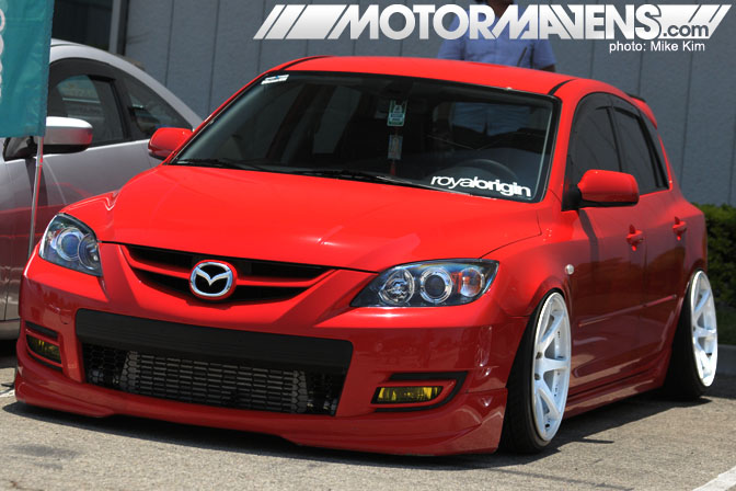 It's JDM Yo 1st Year Anniversary Meet Cerritos Mazda Mazdaspeed 3 Hellaflush Fitment RoyalOrigin