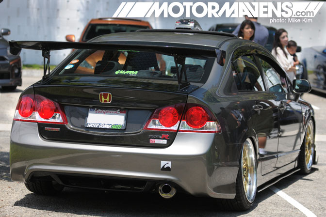 It's JDM Yo Anniversary Meet Cerritos Civic Si JDM Type R Tail Light Conversion