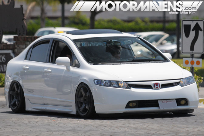 It's JDM Yo 1st Year Anniversary Meet Cerritos Slammed Civic SI Sedan