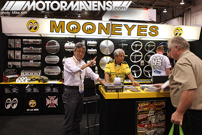 SEMA Show 2011 Las Vegas Convention Center Mooneyes Shige Suganuma