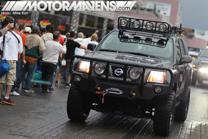 SEMA Show 2011 Las Vegas Convention Center nissan xterra off road