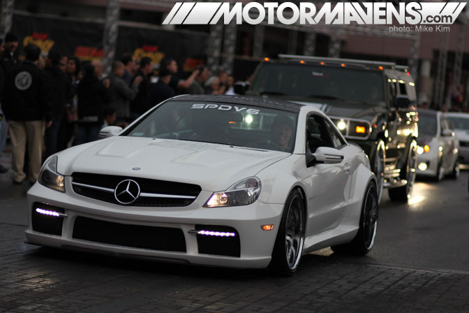 SEMA Show 2011 Las Vegas Convention Center AMG black edition SPDV6 SL