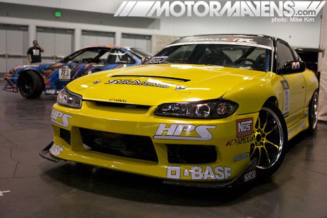 SpoCom 2011 Anaheim Convention Center HPS S13 S15 Nissan Silvia Robbie Nishida Aurimas Odi Bakchis LS3