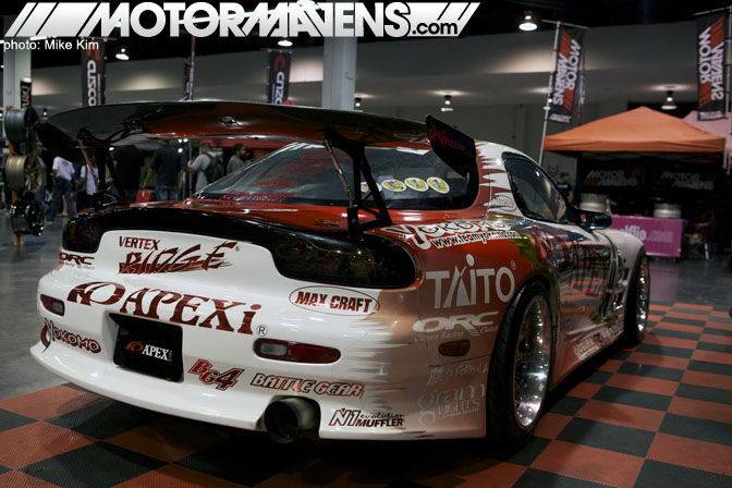 SpoCom 2011 Anaheim Convention Center Apex FD3S Apexi MotorMavens Formula Drift D1 Grand Prix Top Gear FD