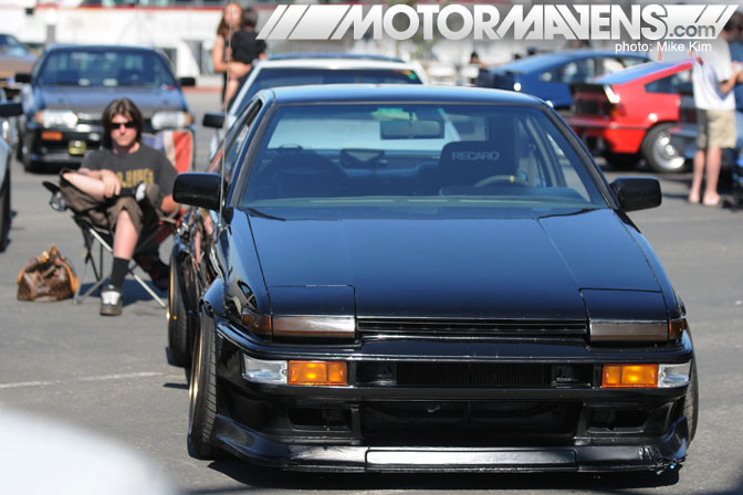 John Russakoff F20C AE86 Street Car Volk TE37V JCCS 2010 Long Beach Queen Mary
