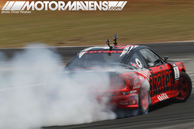 Toshiki Yoshioka Formula Drift Road Atlanta 2011 D1GP Third Place trophy Retaks S13 Sileighty Driftspeed