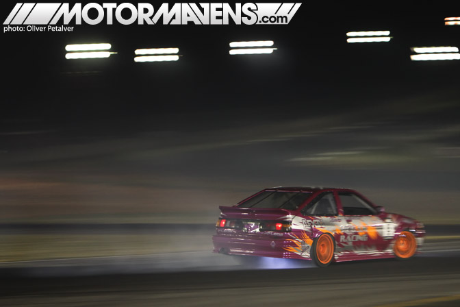 AE86 Trueno Corolla GT-S turbo John Russakoff Formula Drift Atlanta Megan Racing Nexen