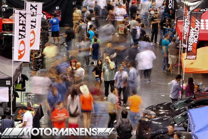 Spocom Automotive Lifestyle Tour Anaheim Convention Center 2011 car show Motion