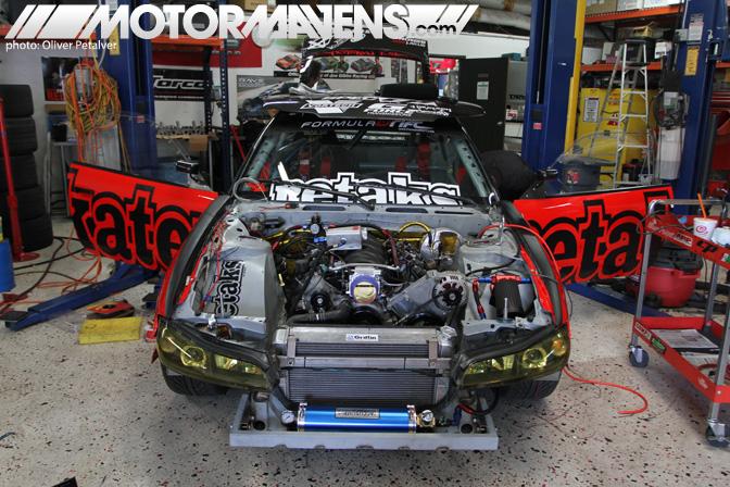 retaks driftspeed Toshiki Yoshioka V8 LS1 S13