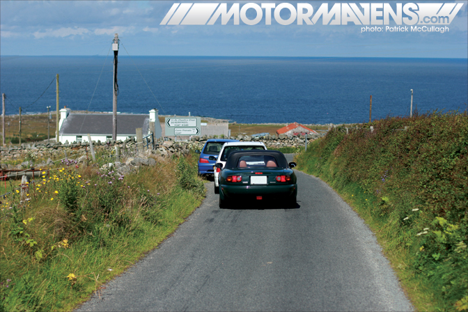 Irish Tarmac Rally Championship Peugeot 106 Donegal Ireland Mazda Miata MX5 Patrick McCullagh