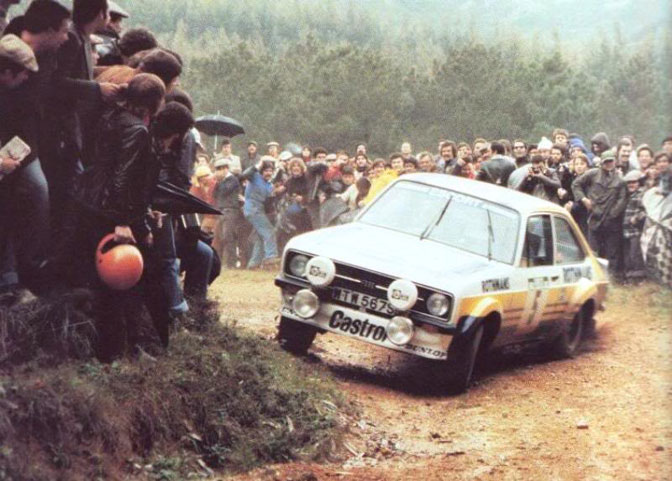 Ari Vatanen Rothmans Escort