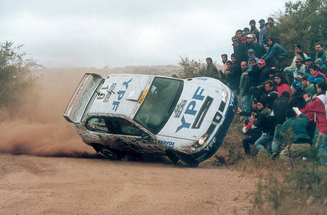 Marc Blazquez Argentina WRC Cordoba SEAT