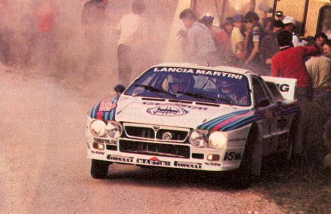 Markku Alen Lancia 037 Rallye
