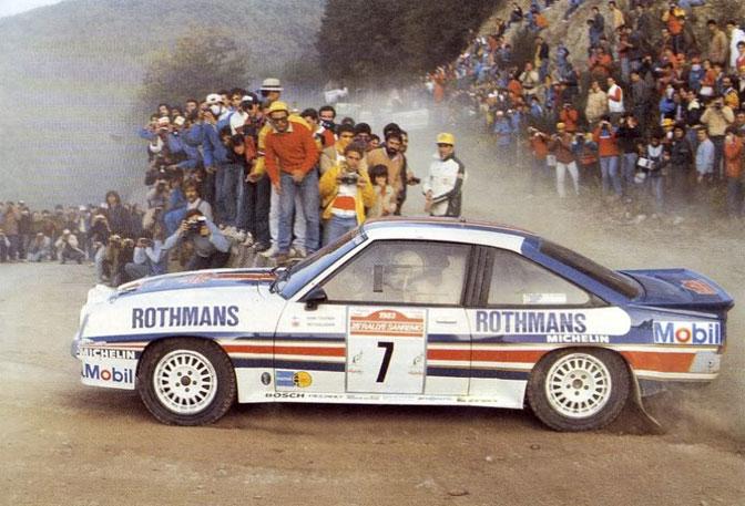 Henri Toivonen Opel Manta