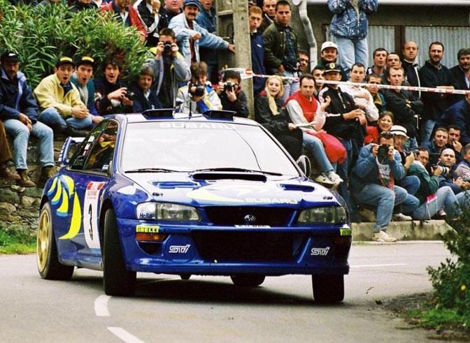 Impreza WRC Tour De Corse Colin