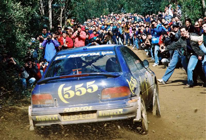 McRae 555 Impreza Subaru Portugal 1995