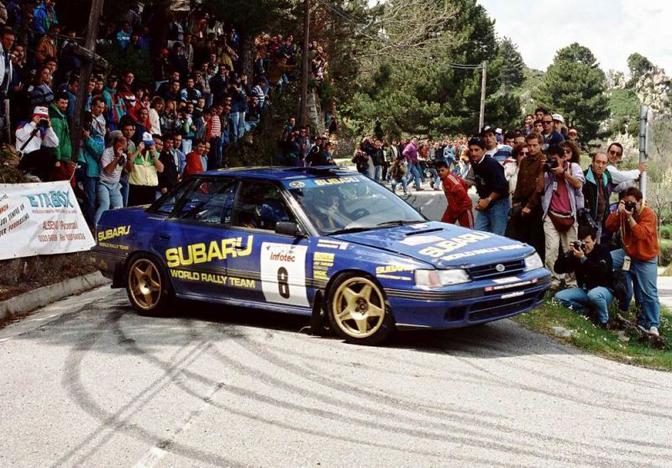 McRae Legacy 555 subaru