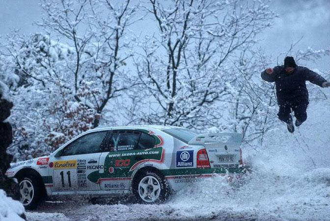 Armin Scharwz WRC Octavia