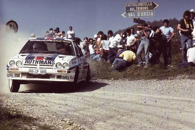 Ari Vatanen Rothmans Manta 400