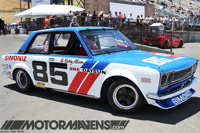 Adam Carolla Bobby Allison Bre Datsun 510 Good Year John Morton Simoniz