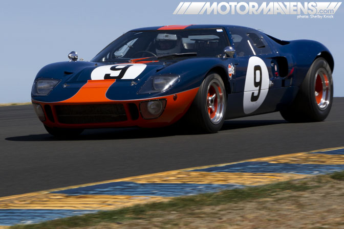 Ford GT40 Mark 2 VARA HSR West Sonoma Historic Motorsports Festival vintage motorsports vintage racing Shelby Knick