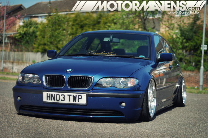 Carspotting Lowdailys Bagged E46 Bmw In Britain Motormavens Car