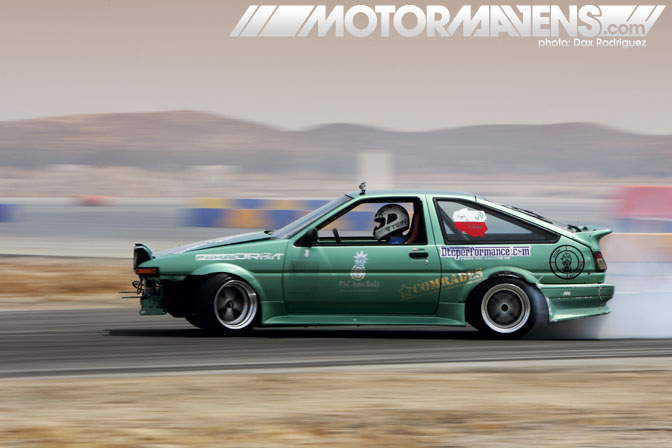 AE86 Luke Pakula Just Drift All Star Bash drifting festival